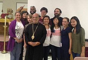 Bp Thomas, Fr Noah, teen & adult Bible Bowl teams, and a few others.